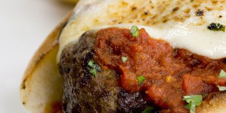 Grilled Meatball Sub