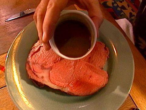 ... Rib Roast with Sage Jus | Recipe | Alton Brown, Ribs and Roasts