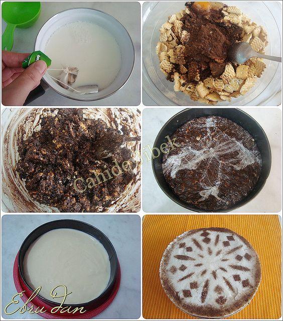 Baharatlı Kremalı Mozaik Pasta