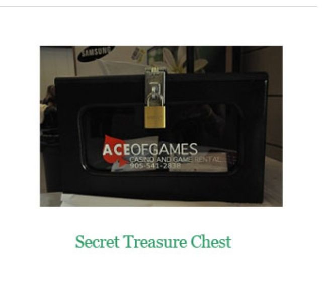 Secret treasure chest- lock a prize in a chest & sell keys to the chest! Whoevers key open the chest at the end of the night wins the prize!