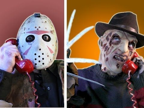 Horror Film Villains Plan Out Their Favorite Holiday During a 'Halloween Conference Call'