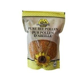 Dutchman's Gold Pure Bee Pollen: Bee Pollen is considered a superfood because it contains all the nutrients needed for life.  Nature's richest source of protein, amino acids, vitamins, minerals, catalytic enzymes or co-enzymes, fatty acids and carbohydrates. Bee pollen is extremely rich in carotenes. A popular supplement for athletes and sports enthusiasts around the world.