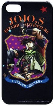 Jojo's Strange adventure iPhone5 case (Part 2) Joseph of D モールトベネ TV アニメジョジョ