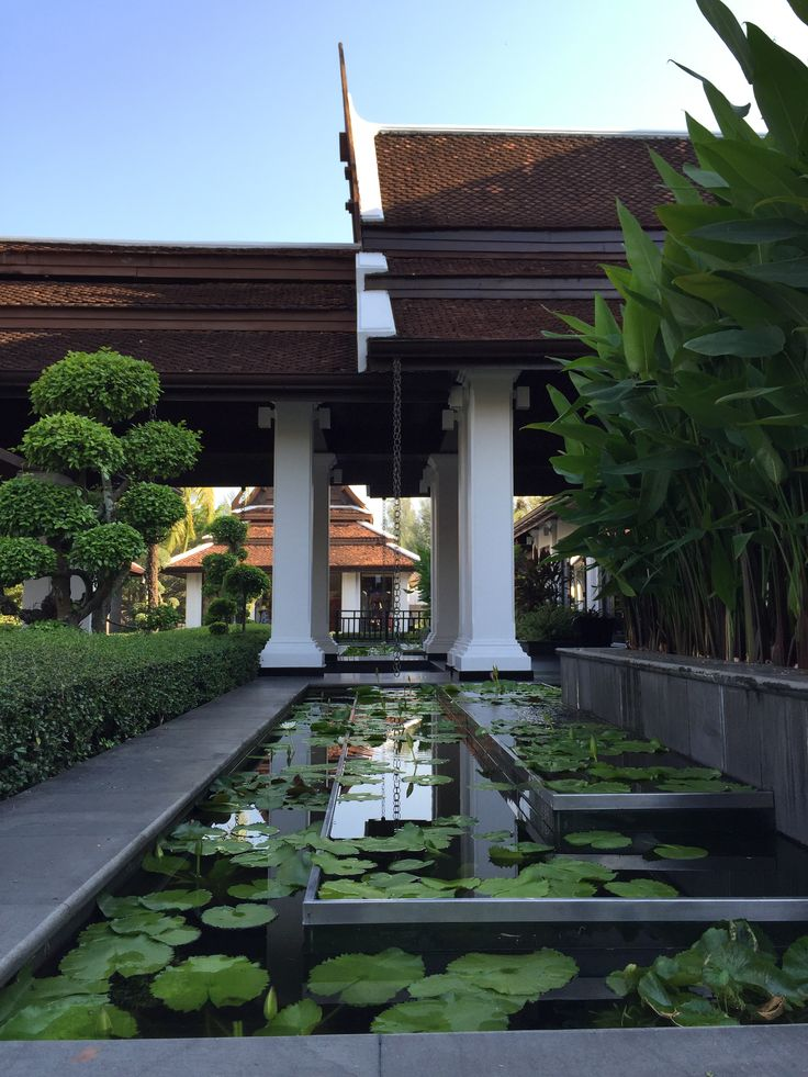 Thailand marriott kao lak, main entrance view
