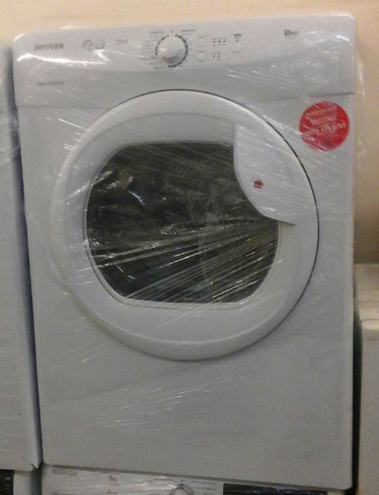 Its AUCTION time !!!! Be in with a chance of winning this dryer !!!!!! Here we have this - Hoover VTV581NC Graded Vented tumble dryer 8 KG Energy Rating : C Sensor drying system Graded product. May have minor cosmetic damage  12 months warranty  Collection ONLY !!! Bid Now Below !!!! #clknetwork #homeappliance24 #kitchenappliances #cleaningappliances
