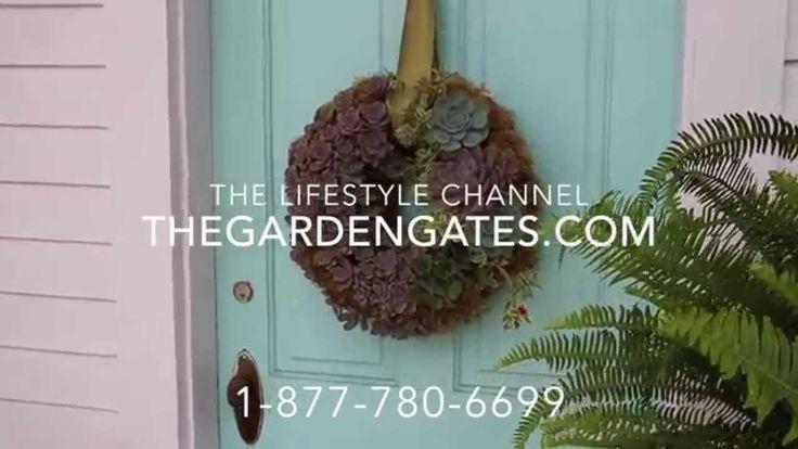 DIY-Making a Succulent Wreath-TheGardenGates com (+playlist)