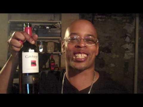 Sadat X- True Wine connoisseur episode #1 El Gato Negro critique - the very first Show - 2010 !