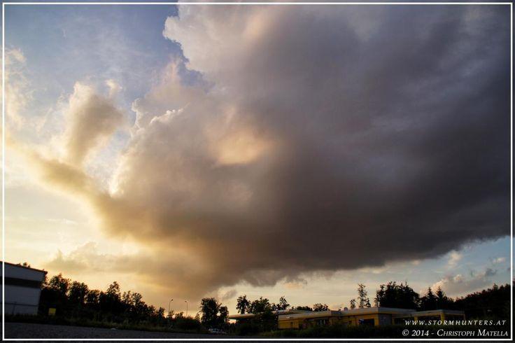 13.06.2014 - Gewitter/Schauerchasing + traumhafte Gewittertürme im Abendlicht @ SO-STMK & S-BGLD