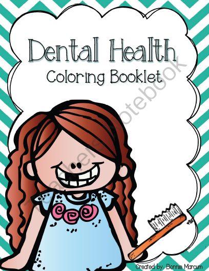 Dental Health Coloring Booklet From Smaller Scholar Preschool On TeachersNotebook