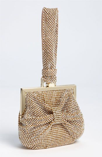 Natasha Couture Bow Wristlet available at #Nordstromweddings $268