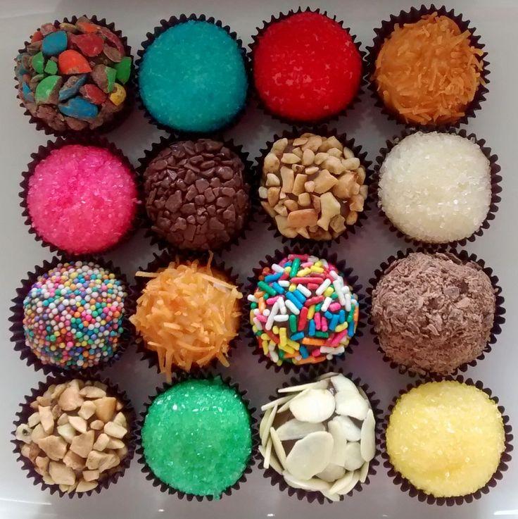 Brigadeiros Gourmet - Chocolateria Chic & Cia.