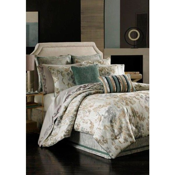 j queen new york driftwood seville queen comforter set 200 liked on polyvore