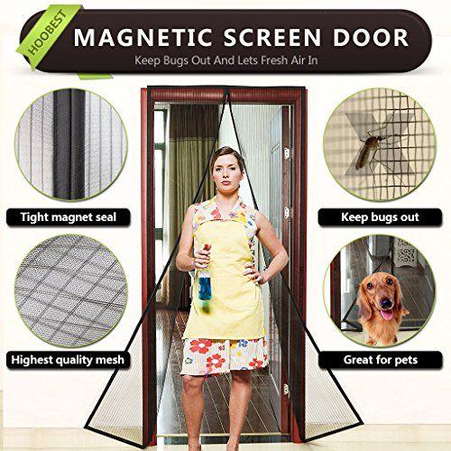 [$12 save 76%] Amazon #LightningDeal 73% claimed: Hoobest Magnetic Screen Door-Heavy Duty Mesh & Full Frame Velc... #LavaHot http://www.lavahotdeals.com/us/cheap/amazon-lightningdeal-73-claimed-hoobest-magnetic-screen-door/183785?utm_source=pinterest&utm_medium=rss&utm_campaign=at_lavahotdealsus