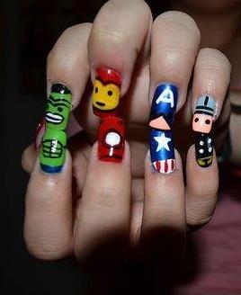 #nails #avengers