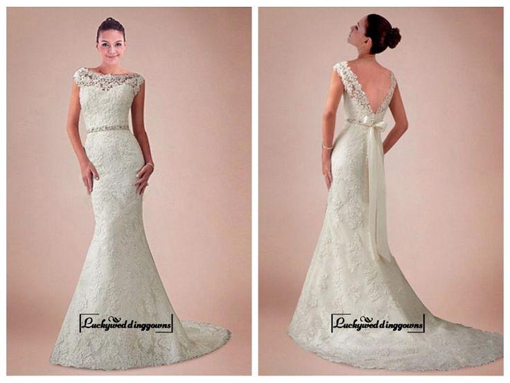 Alluring Tulle&Satin Mermaid Bateau Neckline Natural Waistline Wedding Dress http://www.ckdress.com/alluring-tullesatin-mermaid-bateau-neckline-natural-waistline-wedding-dress-p-1564.html  #wedding #dresses #party #Luckyweddinggown #Luckywedding #design #style #weddingdresses #bridaldresses #love #me #cute #beautiful #girl #shopping #lovely #clothes #instagood #follow #fashion