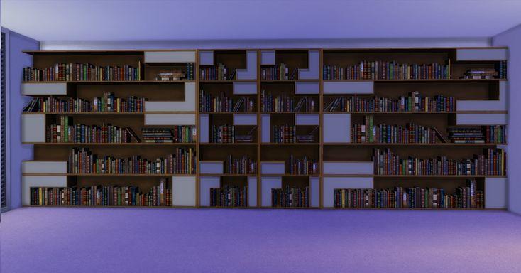 Mod The Sims - Poetic Bookshelf
