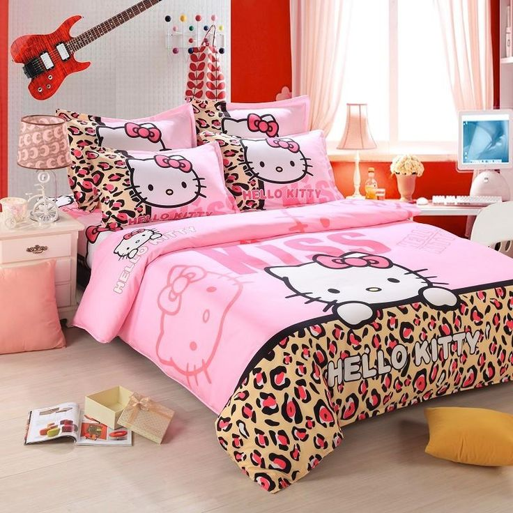 Hello Kitty Bedroom Sets Girls 224 best ♡ hello kitty bedding ♡ images on pinterest   hello