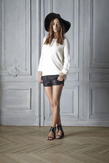 #fashion #style #Outfit #sweater #cashmere #ivory #beautiful #outfit #womenswear