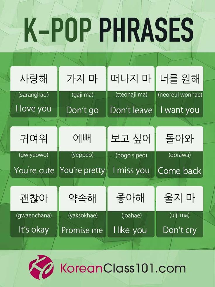 How To Learn Korean With K Pop Kpop Guide Koreanclass101 In 2020 Learn Korean Korean Language Korean Phrases