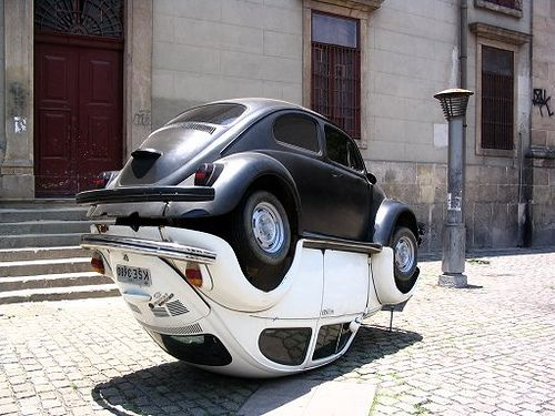 VW Beetle Yin and Yang