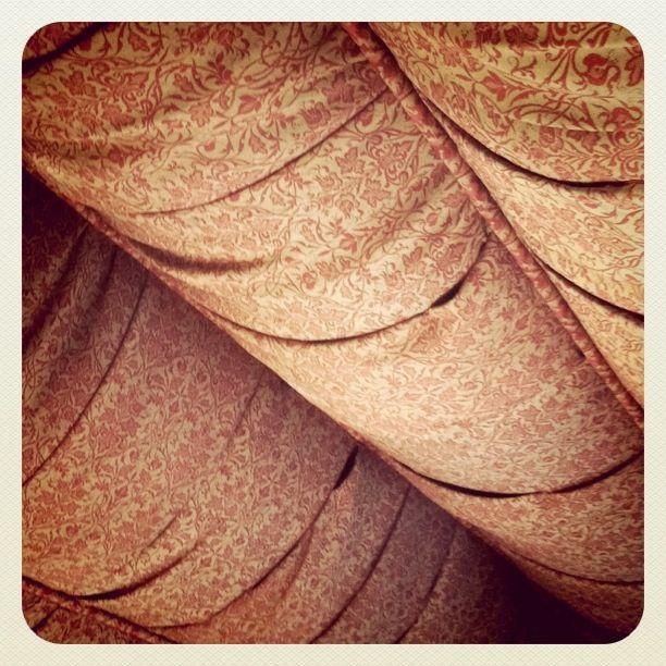 fabric ceiling inside biltmore by danielle muller, via Flickr