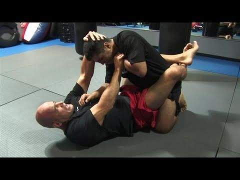 How To Do Bas Rutten's Escape From A Guillotine Choke - YouTube
