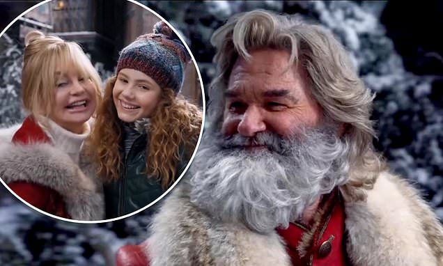 Kurt Russell And Goldie Hawn Return As Santa Mrs Claus In Teaser For The Christmas Chronicles 2 Em 2020