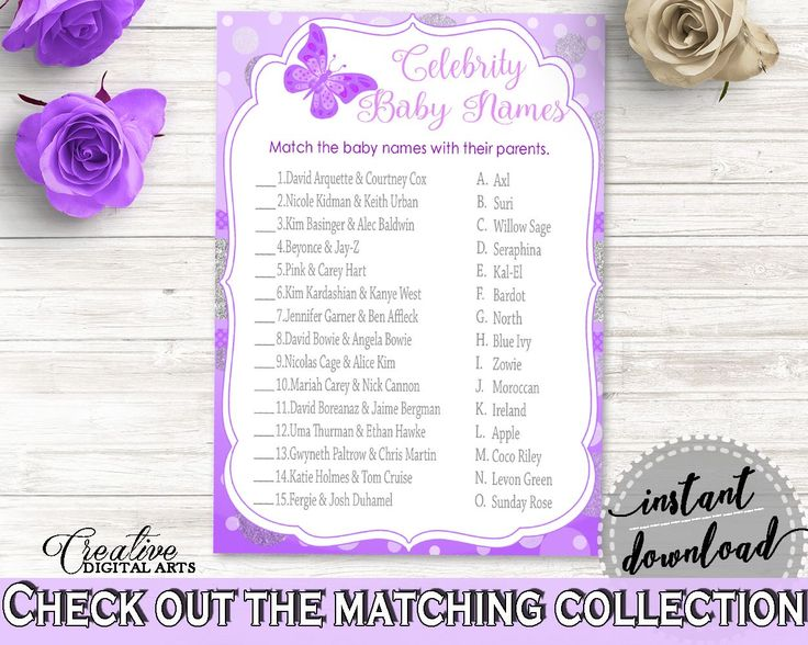 Celebrity Baby Names Baby Shower Celebrity Baby Names Butterfly Baby Shower Celebrity Baby Names Baby Shower Butterfly Celebrity Baby 7AANK - Digital Product baby shower baby shower party newborn mommy to be