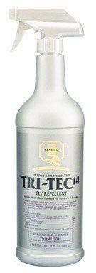 Farnam Tri Tec 14 Fly Repellent Horse Spray Repels and Kills Flies Insect Quart