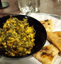 Prior to the sold-out Dave Chappelle show at DPAC, Amanda and friends ate at Bull City Burger and Brewery. Amanda tried one of BCBB's newest menu additions, the housemade pimento cheese and kale dip with wood-fired flat bread wedges, and was instantly hooked to the spicy spread.