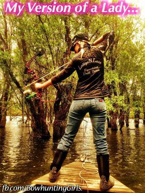 Oh, if I could I would definitely try bowfishing!!!