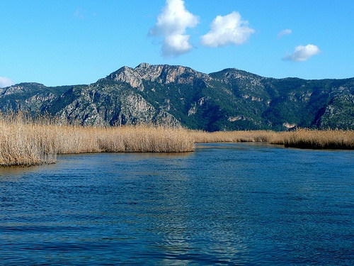 River View - Dalyan, Turkey - one of the most beautiful places we saw in the South of Turkey (but then all of the South of Turkey was amazing)