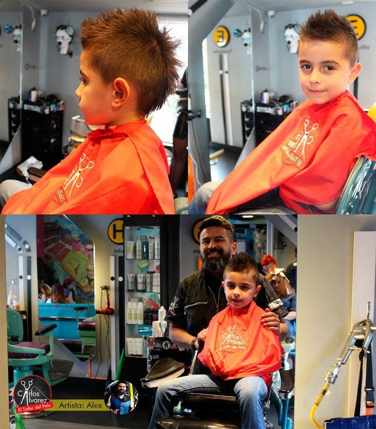 Corte de cabello para niño