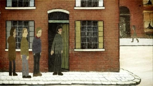 Oasis - The Masterplan (Music video in the style of LS Lowry by Ben & Greg, 2006)