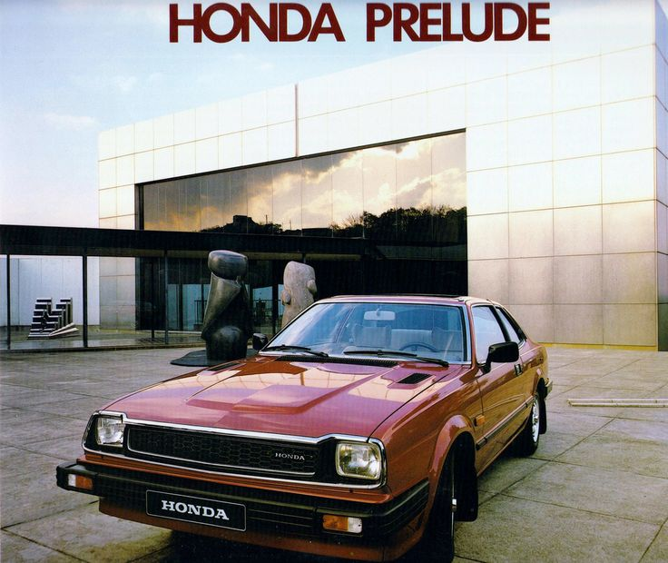Honda Prelude mk1. Just like my first car.