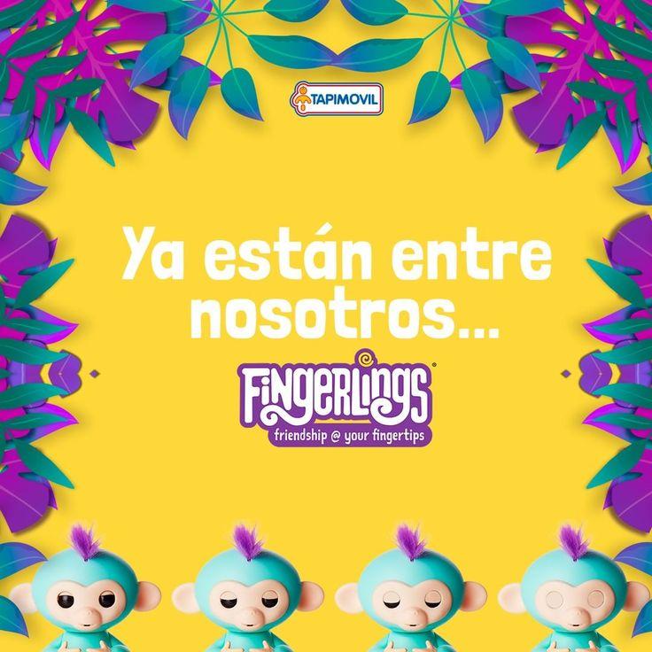 Están entre nosotros!!! Son los monitos  animados más tiernos que hayas visto jamás!!!  Son los FINGERLINGS!! Reaccionan al movimiento y hacen sonidos graciosisimos!!!  #fingerlings #tapimovil #monitos #animados #coleccionables #juguetes #niños #madres #juego #regalos