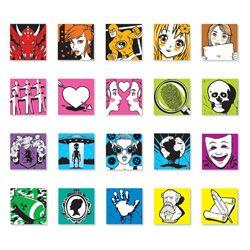 Senior Genre Spine Labels