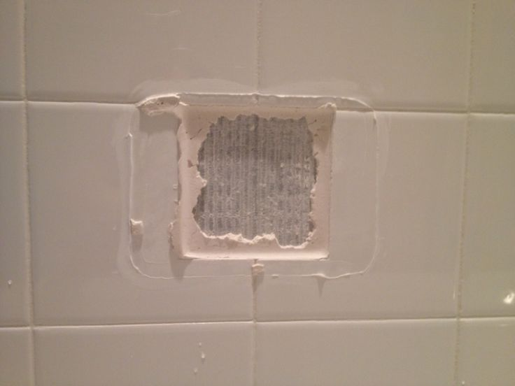 How to Replace a Broken Tile Soap Dish in a Shower ...