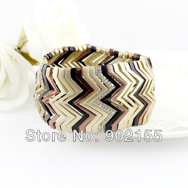 Aliexpress.com : Buy Fashion Jewelry New Style Multilayer Simulated Gemstone Elastic Bracelets And Bangles For Women from Reliable Special Store suppliers on Sopop Jewelry  (no min order) $7.58