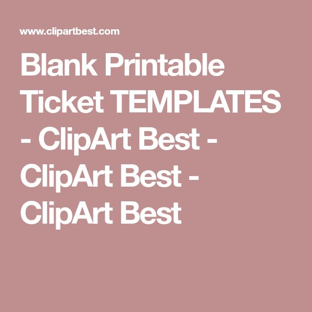 The 25+ best Ticket template ideas on Pinterest Movie ticket - prom ticket template