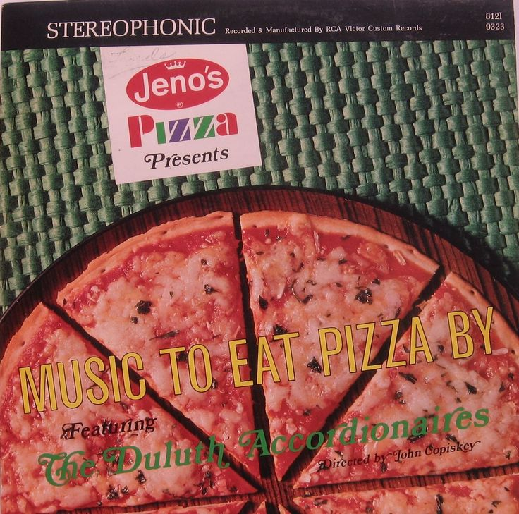 The Duluth Accordionaires - Jenos Pizza Presents: Music To Eat Pizza By (1967)