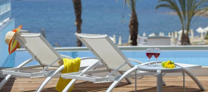 A New, Luxury Beachfront 5-star All Inclusive resort #Paphos  7 Nts All Inclusive from £339pp http://book.completetravel.co.uk/Exclusive/King_Evelthon_PFO/