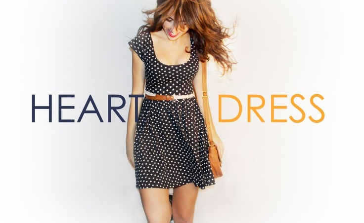 #vestido #corazones @Shana Shops
