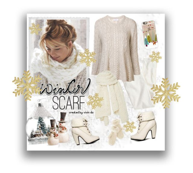 """""""The Snow White ❄"""" by vivin-da on Polyvore featuring J.Crew, Avon, Polaroid, Ryan Roche, I Love Mr. Mittens, Bamboo, National Tree Company, Casetify and Mark & Graham"""
