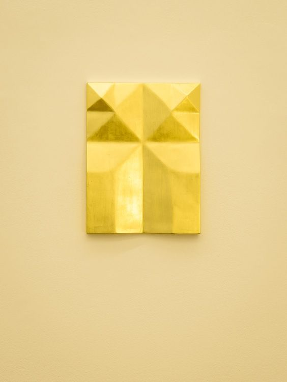 Gonzalo Lebrija, Unfolded gold, 2015, Galerie Laurent Godin