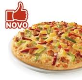 Nova Pizza dos fãs Telepizza
