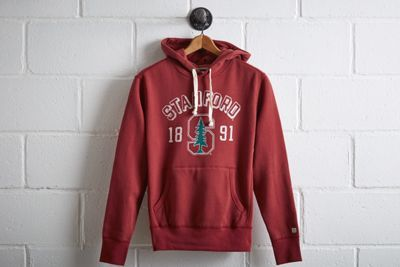 Tailgate Men's Stanford Popover Hoodie by  American Eagle Outfitters | While Stanford does not have an official mascot, it's unofficially represented by  El Palo Alto, a majestic Sequoia in nearby Palo Alto.While Stanford does not have an official mascot, it's unofficially represented by  El Palo Alto, a majestic Sequoia in nearby Palo Alto. Shop the Tailgate Men's Stanford Popover Hoodie and check out more at AE.com.