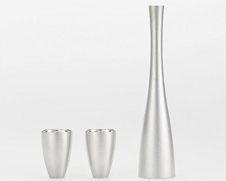 tin sake set by hers design