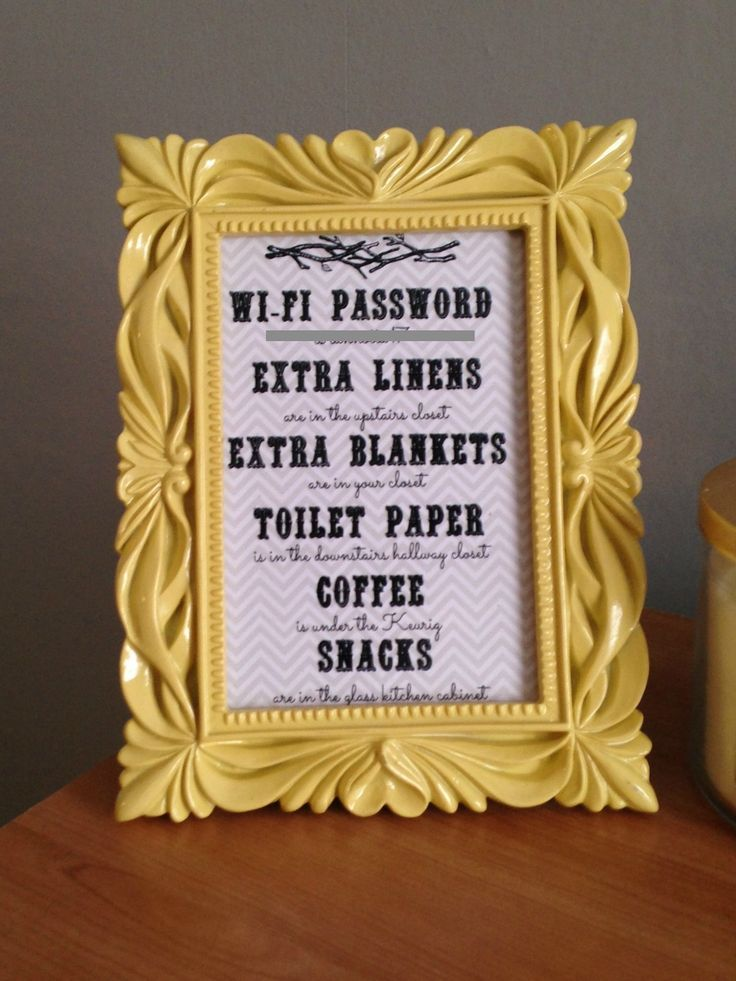 how to find the wifi password on a guest account