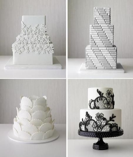 Title   Best Black and White Wedding Cakes Description   You could think  what varieties one may get involved white and black wedding cakes 257 best Cakes   Wedding   Inspiration   Ideas images on Pinterest  . Real Simple Wedding Cakes. Home Design Ideas